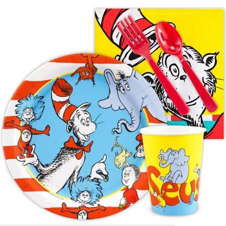 Dr. Seuss Snack Party Pack - Spurs Party Supplies