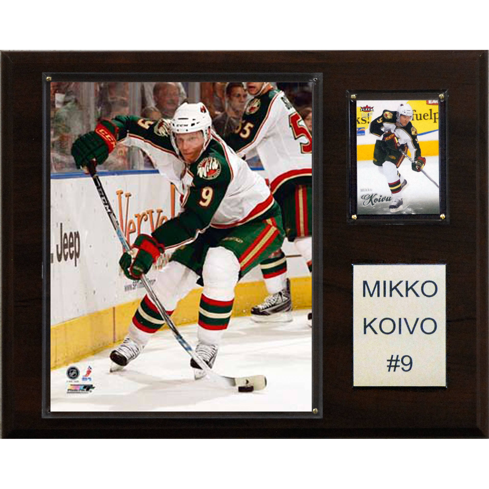C&I Collectables NHL 12x15 Mikko Koivu Minnesota Wild Player Plaque