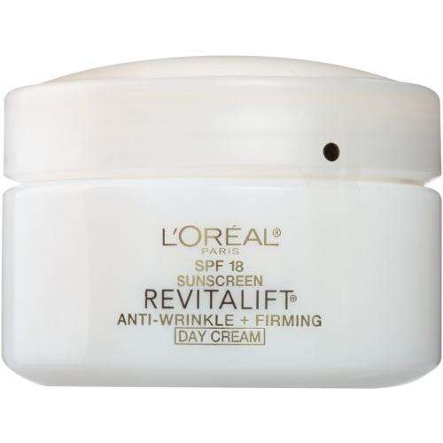 L'Oreal Paris Revitalift Anti-Wrinkle + Firming Day Cream SPF 18 (Best All Day Sun Cream)