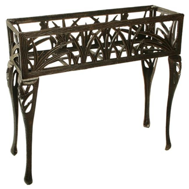 Oakland Living 5081-AB Butterfly Rectangular Plant Stand Antique Bronze by Oakland Living Corporation
