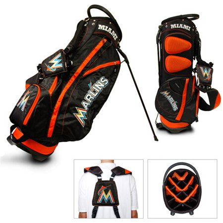 Team Golf MLB Miami Marlins Fairway Golf Stand Bag by