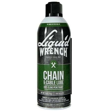 Liquid Wrench Chain & Cable Lube, 11 oz Aerosol