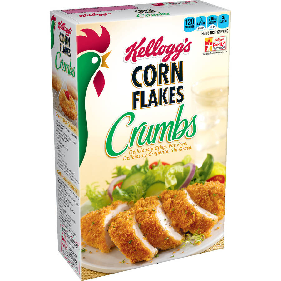 Kellogg's Corn Flakes Crumbs, 21 Oz