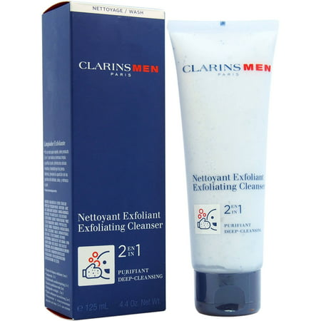 Clarins Men Paris Exfoliating Cleanser, 4.2 Oz