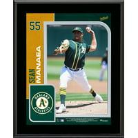 "Sean Manaea Oakland Athletics 10.5"" x 13"" Sublimated Player Plaque"