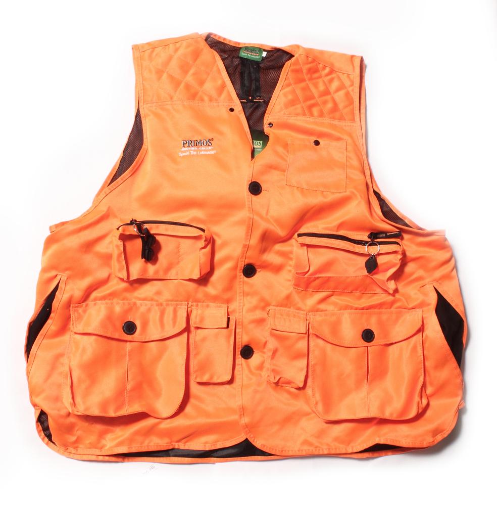 Primos Gunhunters Vest Lg Blaze Orange 65702 by Primos