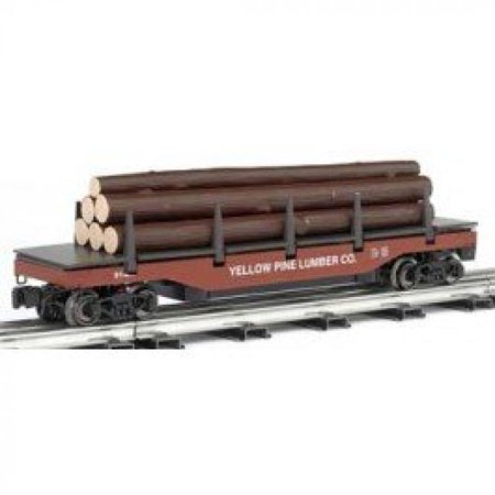 Williams By Bachmann West Side Lumber Company O Scale Operating Log Dump Car