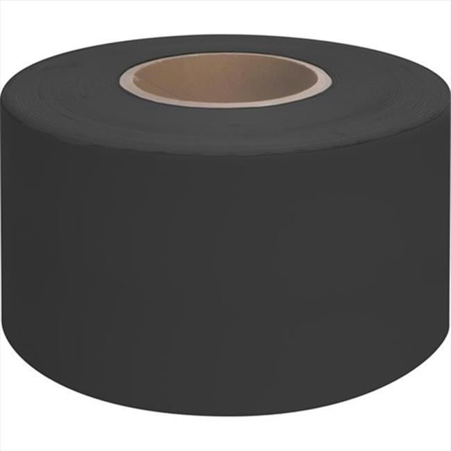 TekSupply 105383 Premium Seaming and Fabric Repair Tape - Black 4 in x 100 ft