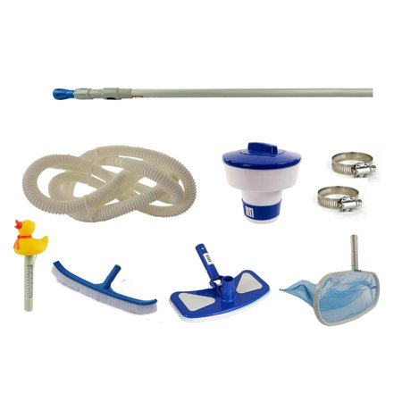 Swim N Play Supreme Pool Cleaning Maintenance Kit for Above Ground Swimming