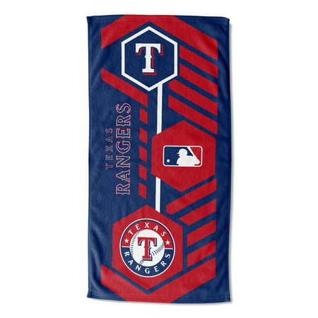 "MLB Texas Rangers 30"" x 60"" Agile Beach Towel, 1 Each"