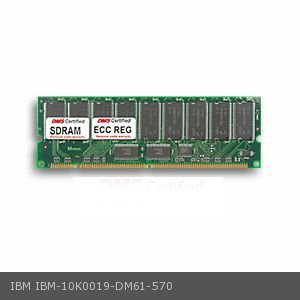 DMS Compatible/Replacement for IBM 10K0019 eserver xSeries 330 8654 128MB DMS Certified Memory PC133 16X72-7 ECC/Reg. 168 Pin  SDRAM DIMM 18 Chip (16x8) - DMS
