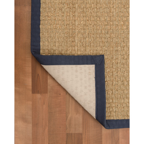 Natural Area Rugs Lancaster Handmade Navy Area Rug