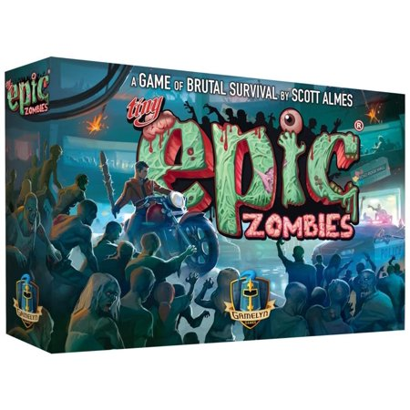 Tiny Epic Zombies a Strategy Board Game for Adults, Teens, and Family, EASY TO LEARN AND QUICK SETUP; Just a few minutes to setup and 30 minutes to really start rolling;.., By Gamelyn Games