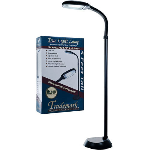Trademark Global 5' Sunlight Floor Lamp