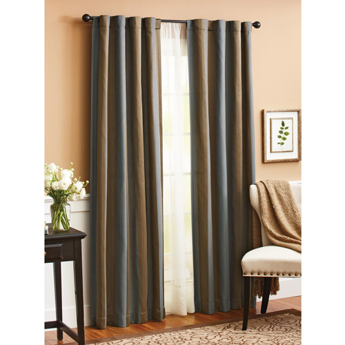 Better Homes and Gardens Satin Stripe Window Panel