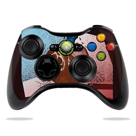 Skin For Microsoft Xbox 360 Controller - Sticky Web | MightySkins Protective, Durable, and Unique Vinyl Decal wrap cover | Easy To Apply, Remove, and Change Styles](Sticky Web)