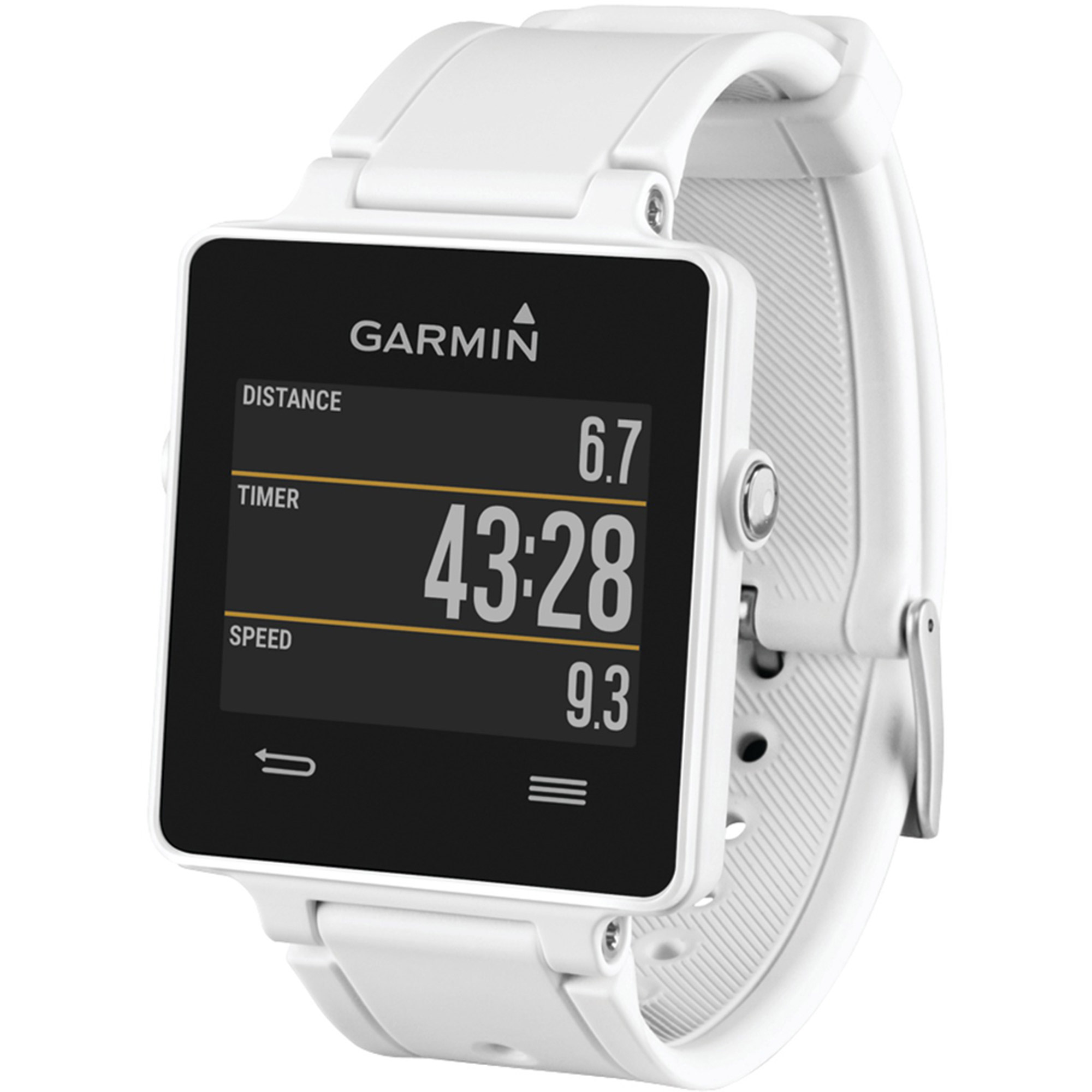 Garmin Vivoactive Smartwatch Bundle, White