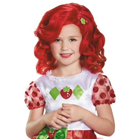 Morris Costumes DG84466CH Strawberry Shortcake Child Wig - Strawberry Shortcake Wig