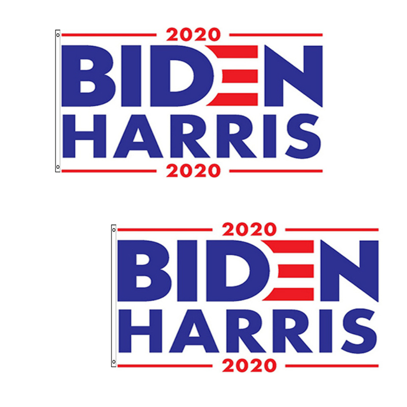 2pcs 3x5 Foot Joe Biden Harris 2020 Flag Polyester Grommets Fade Resistant Home Decor Banner Flags Walmart Com Walmart Com