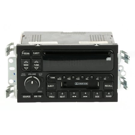 2000-2001 Buick LeSabre AM FM Stereo Cassette CD Player Option Code UPO 09389324 - Refurbished
