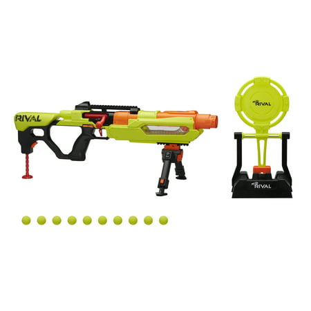Nerf Rival Blaster Jupiter XIX-1000 Edge Series with Target and 10 Rounds - Walmart Exclusive