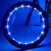 Wheel Brightz LED Bicycle Wheel Accessory Light, Blue, for 1 Wheel