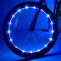 Wheel Brightz LED Bicycle Wheel Accessory Light, Blue, for 1 Wheel