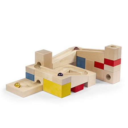Varis Wooden Marble Run Early Learning Construction Toys