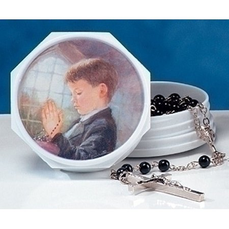 Roman 40518 Communion Boy Box with Rosary - Communion Gift For Boy