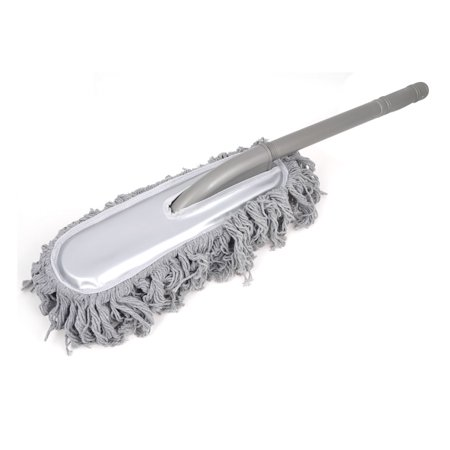 25 6 microfiber scratch free car washing brush for vehicles dust gray. Black Bedroom Furniture Sets. Home Design Ideas
