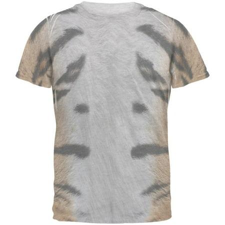 Halloween Tiger Costume Mens T Shirt](Mens Tiger Costume Halloween)