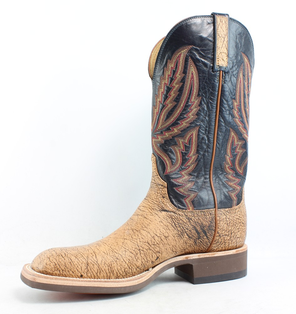 Lucchese Mens Hx2504.W8 Tan Cowboy Western Boots Size 8.5 EE
