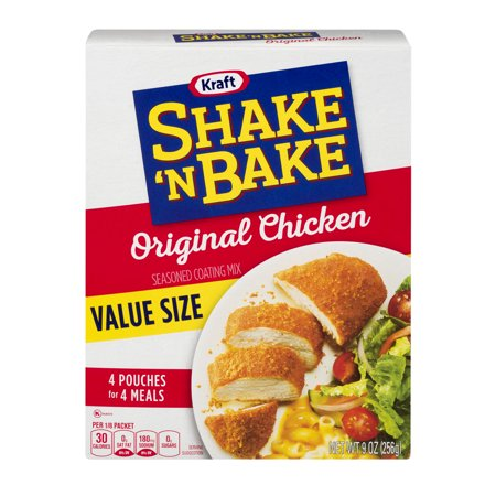 Kraft Shake 'N Bake Seasoned Coating Mix Original Chicken, 9.0 OZ