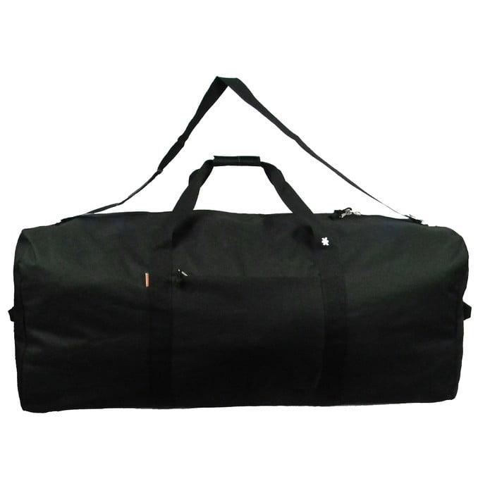 K-Cliffs Heavy Duty Large Square Cargo Duffel Jumbo Gear Bag Big Equipment Bag Sport Duffel Oversized Travel Bag Huge Rack Bag 36 inch