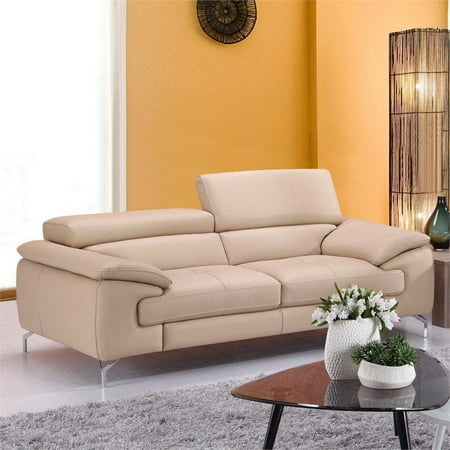 Modern Italian Premium Genuine Peanut Leather Sofa J&M Furniture A973