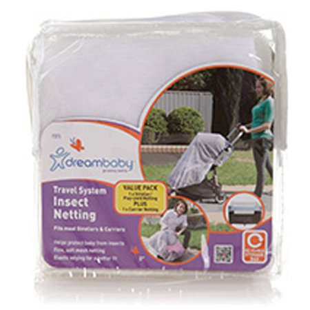 Dreambaby Travel System Insect Netting Value Pack