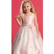 Pink Dress Size 2T Faux Shantung Flower Girl