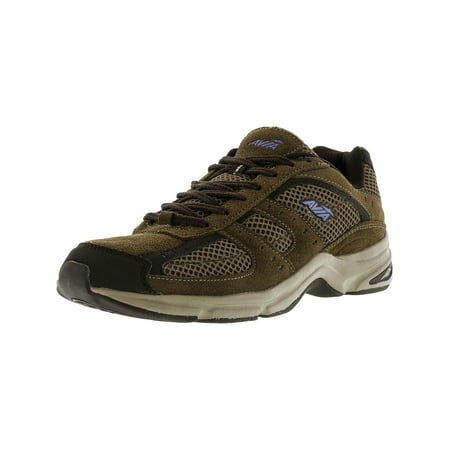 Women's Avi-Volante Country Medium Brown / Purple Ankle-High Nubuck Hiking Shoe - 8.5W