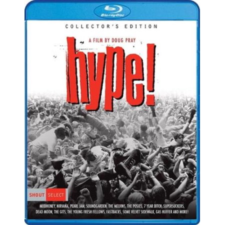 Hype  Blu Ray Collectors Ed 2017 Reissue Seattle Grunge   Uni Dist Corp