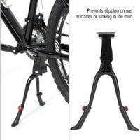 Hilitand Bicycle Kickstand,Bike Kickstand,Center Mount Double Leg Height Adjustable Bike Kickstand Stand Fits 24-28 inch Bicycle