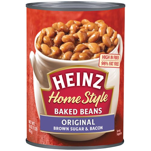 Heinz Homestyle Original Brown Sugar & Bacon Baked Beans, 16 oz
