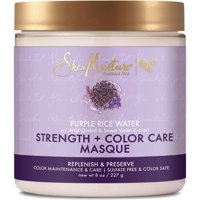 Sheamoisture Purple Rice Water Strength & Color Care Masque, 8 Oz