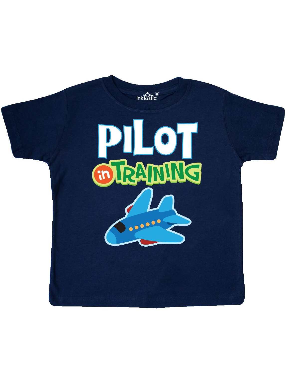 Pilot In Training Boys Airplane Toddler T-Shirt