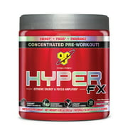 BSN Hyper FX Pre Workout Powder, Fruit Punch, 30 Servings