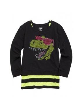 6d2d9351 Justice Little Girls Tops & T-Shirts - Walmart.com
