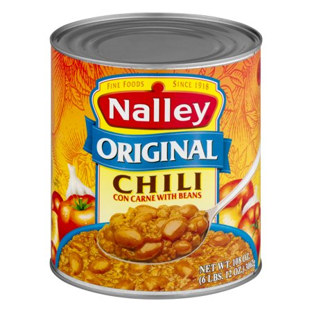 nalley chili con carne with beans original 6 oz. Black Bedroom Furniture Sets. Home Design Ideas