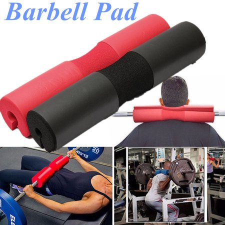 Squat Sponge Olympic Barbell Pad Shoulder Support Weight Weightlifting, Red / Black - image 5 of 5