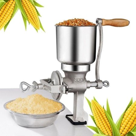 Ktaxon Grinder Corn Coffee Food Wheat Manual Hand Grains Iron Nut Mill Crank Cast Home Kitchen (Best Manual Coffee Mill)