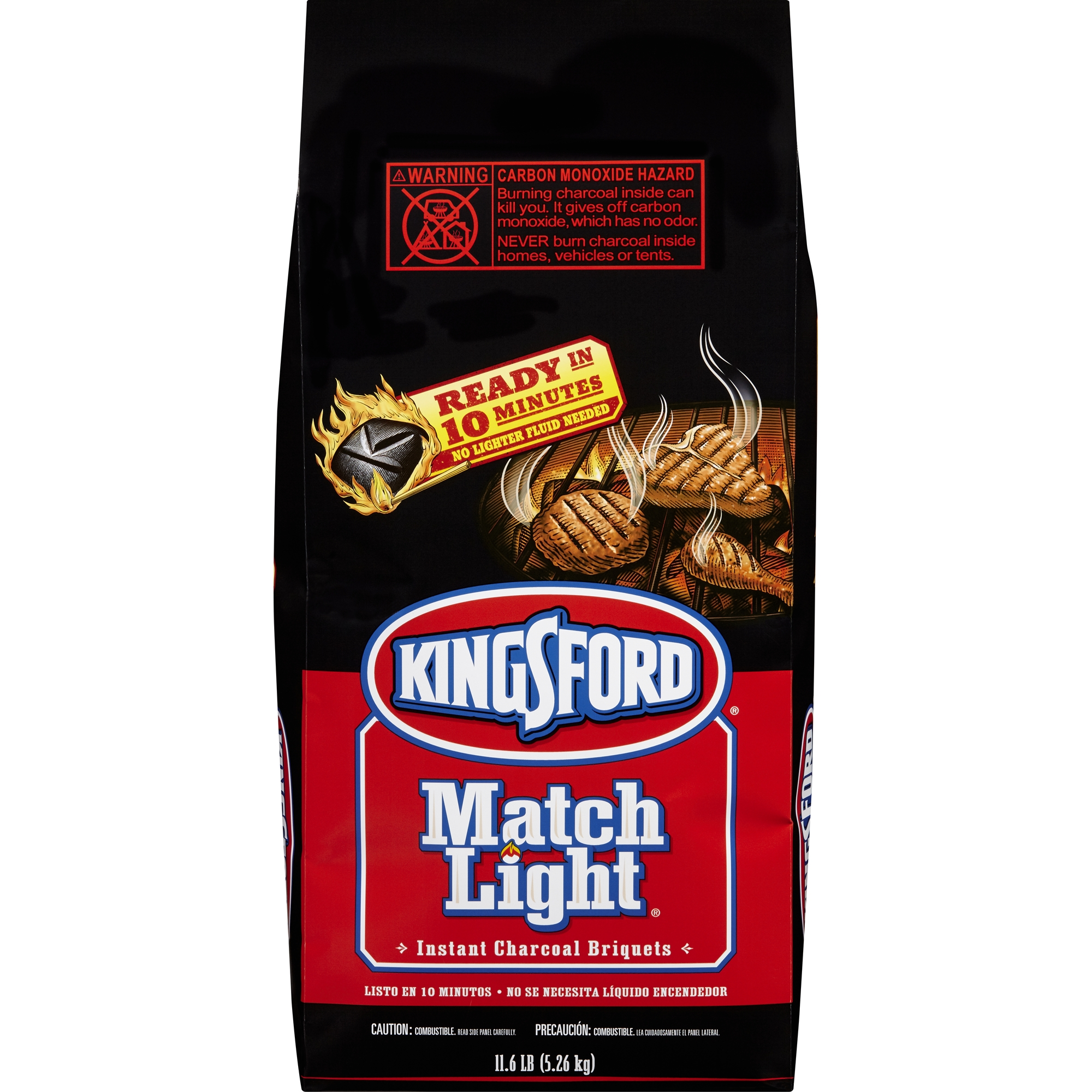Kingsford Match Light Charcoal, 11.6 Pounds, 11.6 LB