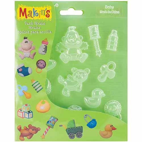 Makin's Clay Push Molds